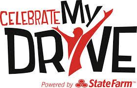 Celebrate my drive logo