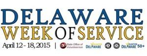 Delaware Week of Service 2015 logo