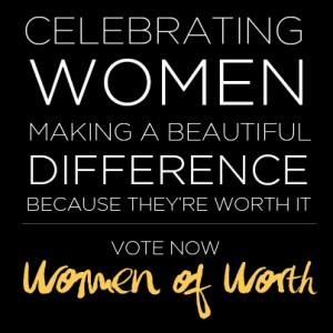 LOREAL Women of Worth Logo
