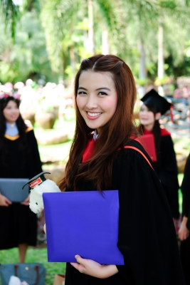Graduate with Background